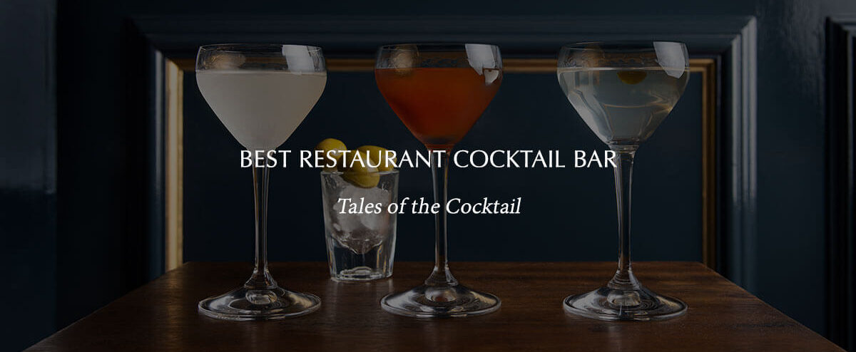 """Text over the second image that reads """"Best Restaurant Cocktail Bar"""""""